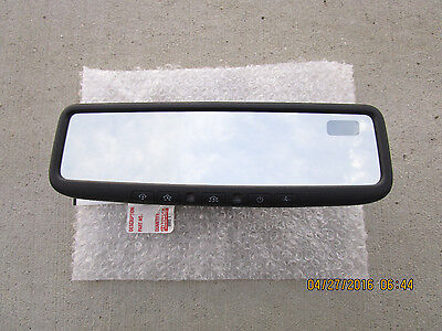 08- 11 TOYOTA TUNDRA SR5 LIMITED 5.7L V8 REAR VIEW MIRROR BACK UP CAMERA DISPLAY