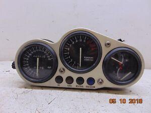 1996 96 Kawasaki ZX9R Ninja 900 gauges speedometer tachometer fuel temp 44862 mi