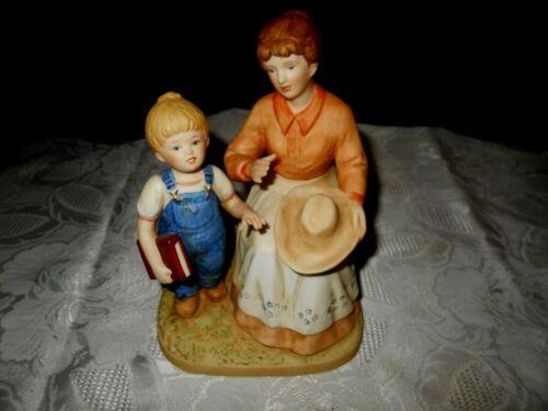 """Home Interiors Denim Days Porcelain Figurine """"Danny"""