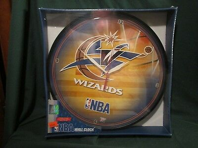 WINCRAFT WALL CLOCK NBA BASKETBALL WASHINGTON WIZARDS 12