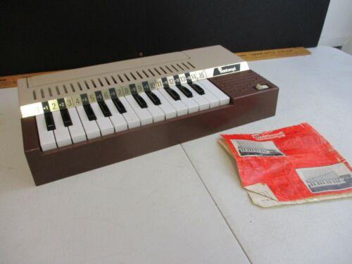 Vintage Bontempi Metodo Piano