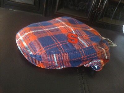 Honour Society Syracuse Orangemen Driver Campus News Boy Golfer Hat Cap  L/XL (News Boy Caps)