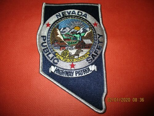Collectible Nevada Police Patch,State Highway Patrol,New