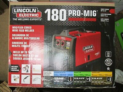 Lincoln Electric 180 Pro-mig Welder K2481-1 Brand New