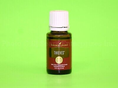 Young Living Thieves 15ml Essential Oil Cleansing Purifies Odors Refersh Carpets