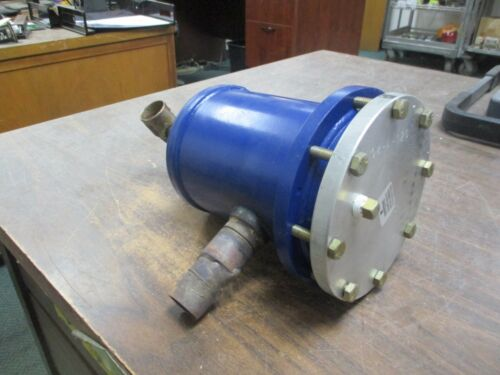 Emerson Steel Take-Apart Filter-Drier Shell STAS-489T Used