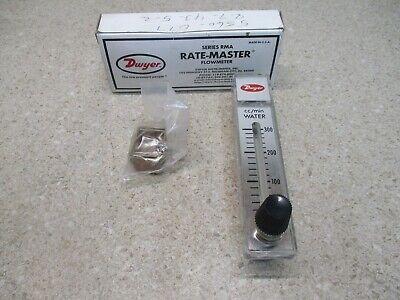 Dwyer Rate-master Flow Meter 411905h Modelrma-34-ssv New In Box