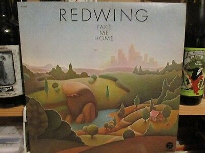 Redwing   Take Me Home  Fantasy Lp 1973 Country Roots Rock F 9439 Vg  Nfs Promo