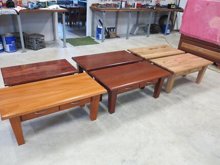 Marri slabs jarrah bespoke tables benchtops vanities stair for Coffee tables joondalup