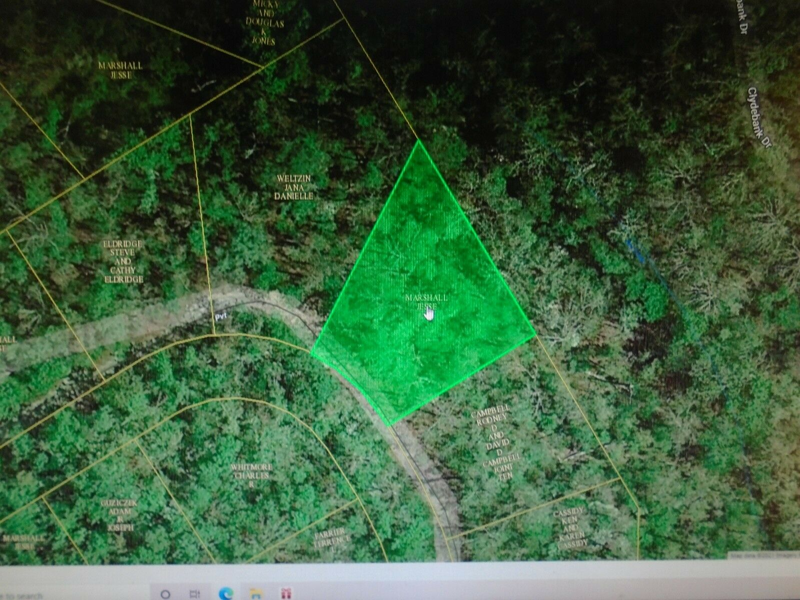 12192 Sq Ft .2799 Acre Briarcliff, AR- 1/2 Mile To Norfork Lake POWER 300 FT  - $125.23