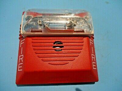 New Whelock Ns-241575w Wall Fire Alarm Horn Strobe 24v