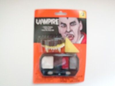New Vampire Halloween Make-Up Kit Ages Five - Boys Makeup Kit