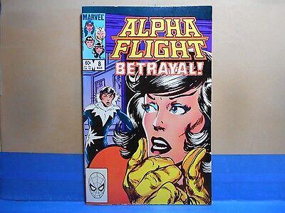 ALPHA FLIGHT Volume 1 #8 of 130 1983-1994 Marvel Comics Uncertified see below