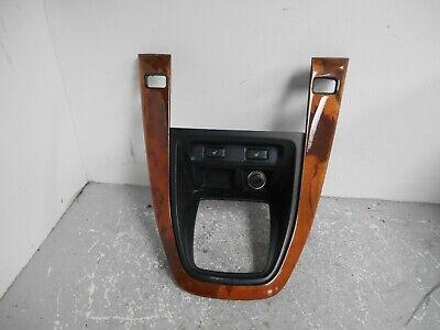 1999-2003 LEXUS RX300 SHIFTER SEAT WARMER BEZEL WOOD GRAIN (P6261)