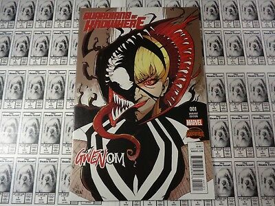 Guardians Of Knowhere  2015  Marvel    1  1 App Gwenom Variant Cvr  Bendis  Nm