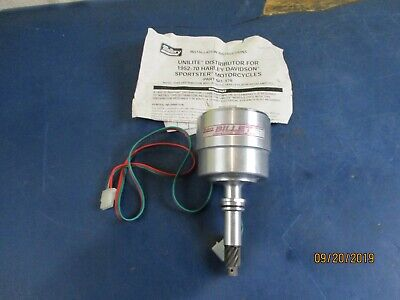 MALLORY ELECTRONIC IGNITION DISTRIBUTOR HARLEY SPORTSTER 57-70. FLATHEAD 1930-73