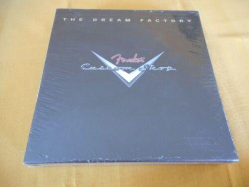 The Dream Factory Fender Custom Shop Book Hardcover