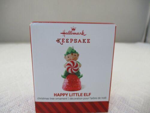 2014 Hallmark HAPPY LITTLE ELF miniature ornament