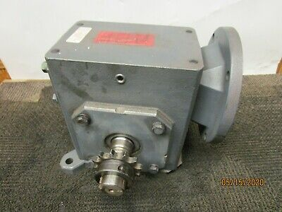 Sterling 262aq020562 Gearbox Speed Reducer 201 Ratio 2.392hp