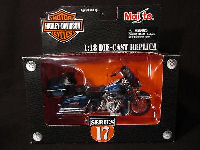 Maisto Diecast 1:18 Harley 2002 FLHTCUI Peace Officer Special Edition series 17  ()