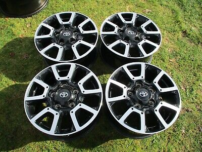 18'' Toyota Tundra Factory OEM Alloy Wheels Rim Black Machined 2009-2020 75157 3