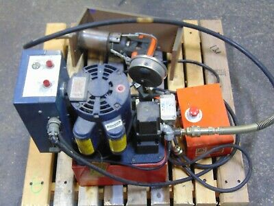 Thomas Betts Electric Hydraulic Pump 10000 Psi With Cable Crimper 115v