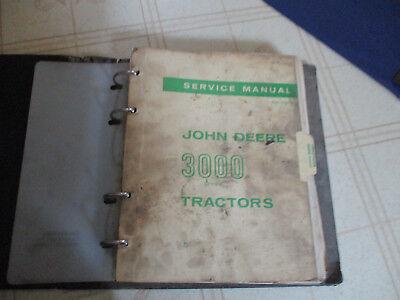 John Deere 3020 Tractor Hi-crop Orchard Utility Service Repair Manual