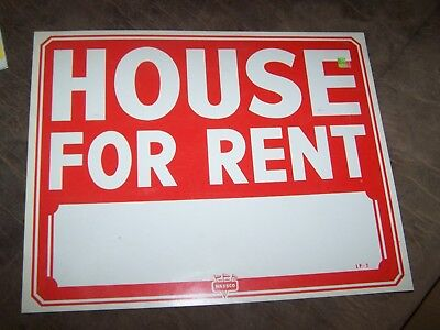 Single Jumbo House For Rent 15 X 19 Sign