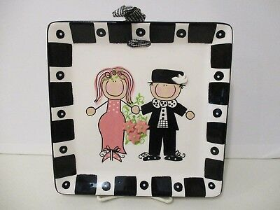 CLAY CHICK WEDDING TILE - 8