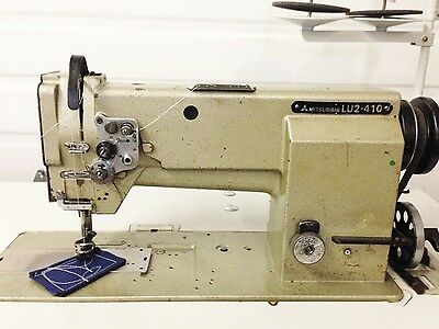 Mitsubishi Walking Ft New Table Reverse Lg Bobbin 110v Industrial Sewing Machine
