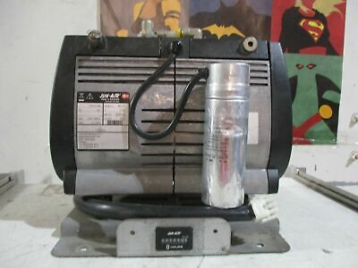Jun-air Of312 Compressor Oil-less Rocking Piston 120v60hz 8.4a 1650 Rpm