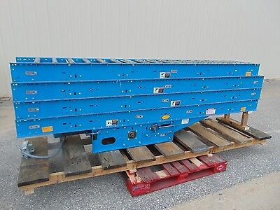 40 Hytrol Driven Belt Conveyor - Gravity Roller Conveyor