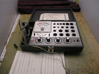 Accurate Instrument Co Model 257 Tube Tester 4q-20.5