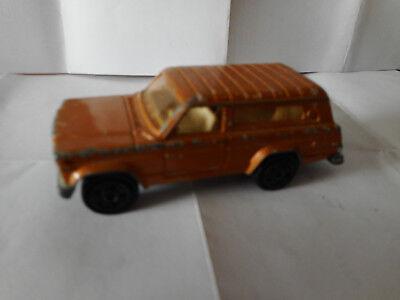 Majorette 236  vintage 1/64 jeep cherokee die cast model  usato  Agnelli
