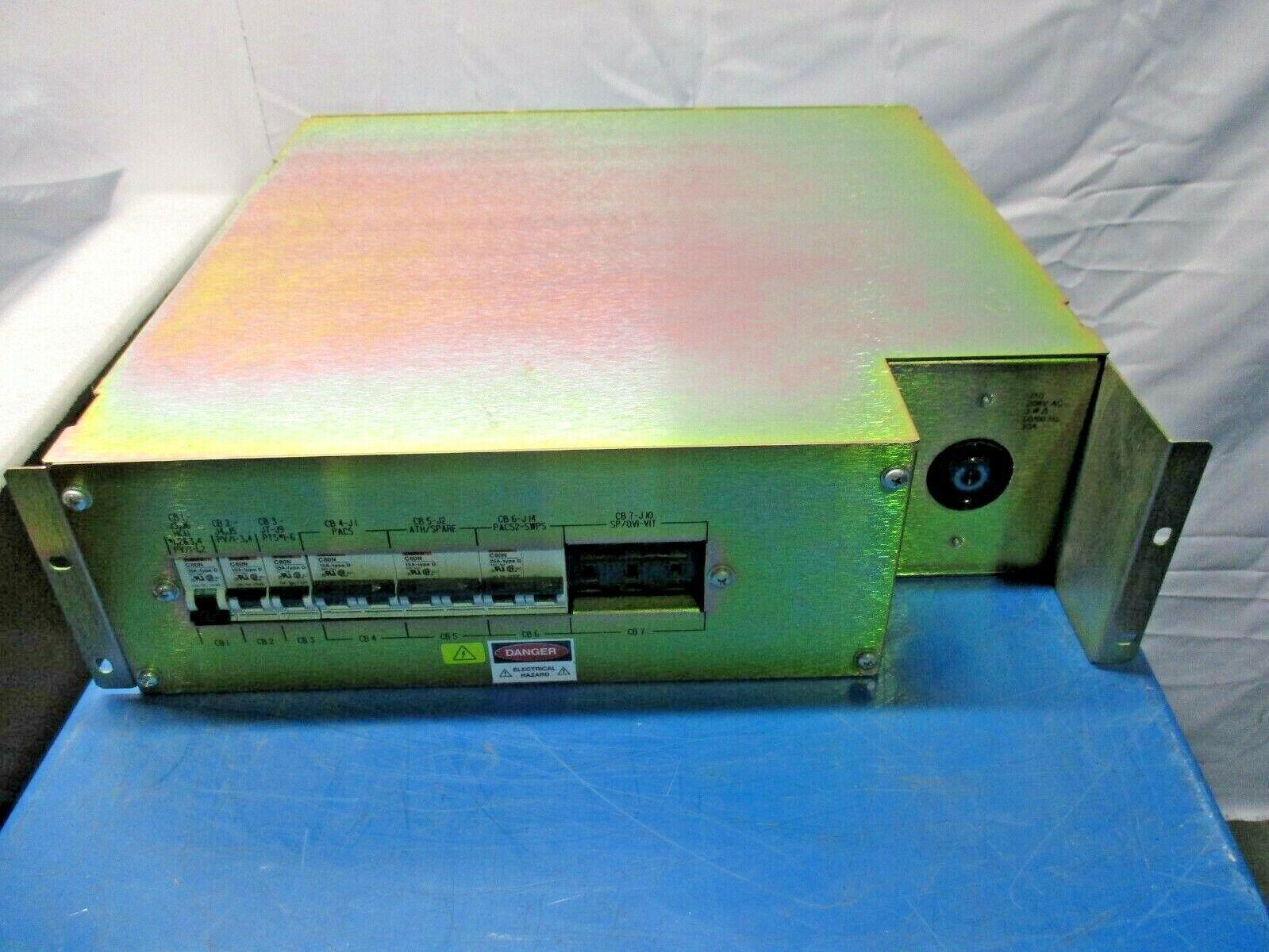 Merlin Gerin Power Supply, C60N, 15A-type D, AIRPAX IELHR111, 453626
