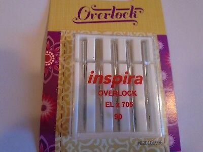 Inspira Overlock 5 Needles ELx705 Viking Pfaff Overlock Machines #90/14