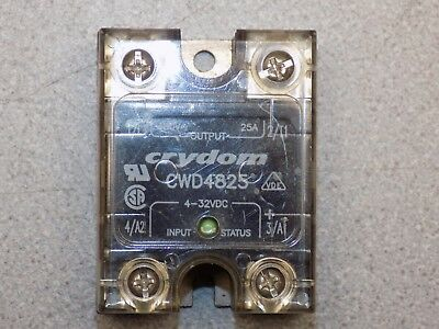New Crydom Cwd4825 In 4-32 Vdc Out 480 Vac 25a Solid State Relay . Ssr
