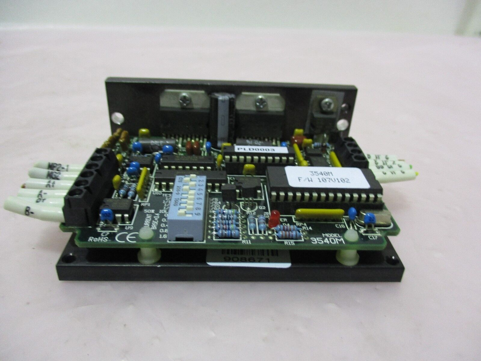 Applied Motion Products 3540M Step Motor Driver, PCB 1000-107E, 420681