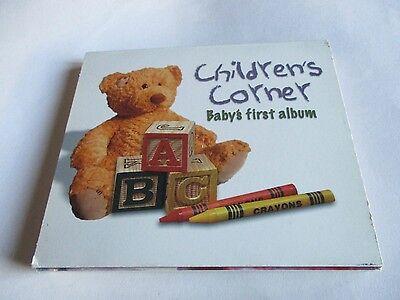 Babys First Pop (Childrens Corner Babys First Album CD Pop Up Photo Frame Slipcover 18 Tracks )