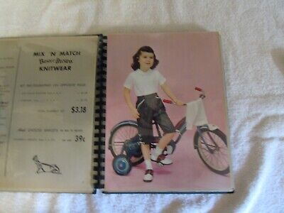 Buster Brown Children's Clothes Research Staff Book 1950s RARE Advertising