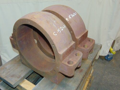 2 Large Heavy Duty Industrial Bearing Pillow Block Holders