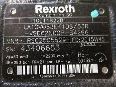 Rexroth Hydraulic Piston Pump Cat Tl1055d 1001182281 Jlg Caterpillar