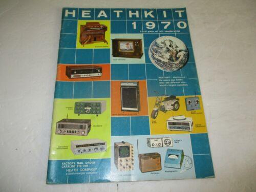 Heathkit electronics catalog - 1970