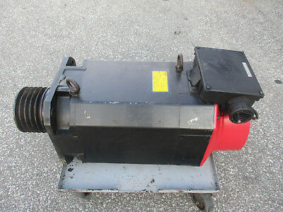 Fanuc A06b-0830-b100 Ac Spindle Motor Ap30 4500rpm 15kw18kw 134-192v Tested
