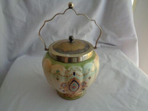 Vintage Stoke On Trent S.F. & C Co. Crown Devon Cookie/Bisquit Jar #5514325