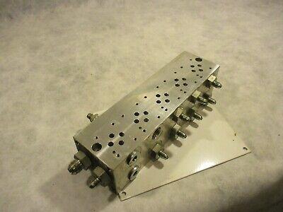 Daman Hydraulic Do3 5 Station Manifold Parallel Ado3-p05