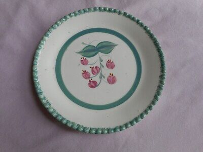 - Vintage Southern Potteries Blue Ridge BREAD & BUTTER PLATE Hand Painted