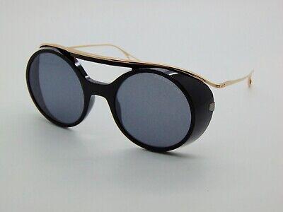 New DITA NACHT ONE DTS108-56-01 Black/Gold Dark Grey Lens 56mm Sunglasses