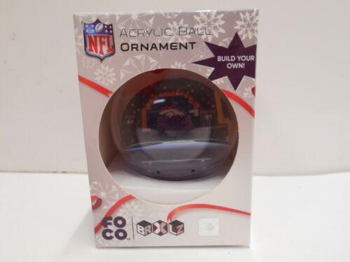 NFL Foco Denver Broncos Build Your Own Christmas Ornament