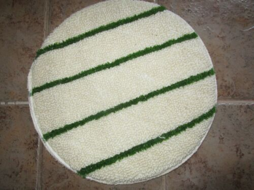 """INDUSTRIAL WOOD FLOOR CLOTH BUFFING CLEANING POLISHING BONNET PAD 18"""""""